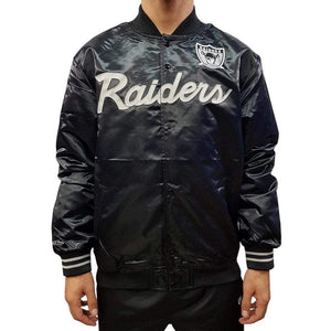 MNS RAIDERS SATIN JACKET 18019