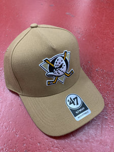 47 MIGHTY DUCKS MVP DT CAP CAMEL