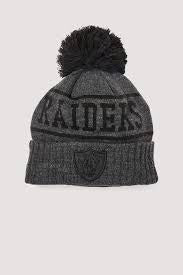 NE Q220 KNIT BEANIE RAIDERS