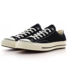 CONVERSE CHUCK OX BLACK/WHITE ADULTS