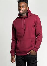 AS COLOUR STENCIL HOOD 5102 BURGUNDY