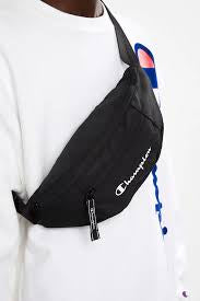 CHAMPION WAIST BAG ZYVJA1 BLK