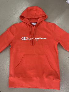 CHAMPION SCRIPT HOOD RED XWP