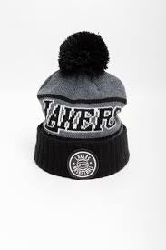 MNN PATCH BEANIE LAKERS INTL535