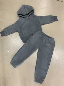 ARBY N OPAL TODDLER SUITS CHARCOAL