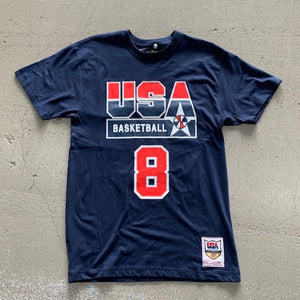 MNS DREAM TEAM TEE USA NAVY PIPPEN