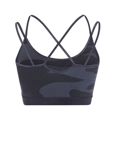 Slim Studio Bra (blue planet print)