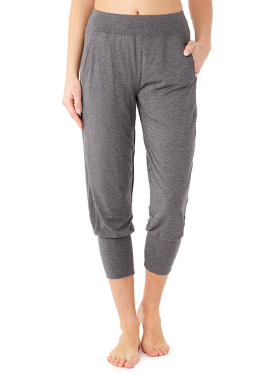 Cropped Pants (grey melange)