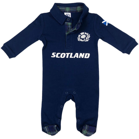 Scotland Rugby Baby Sleepsuit