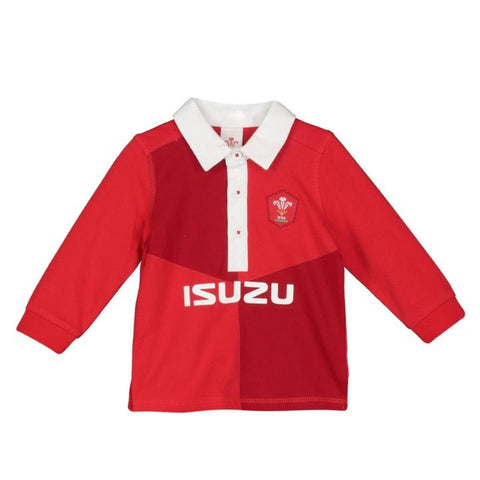 Wales Rugby Baby Rugby Shirt