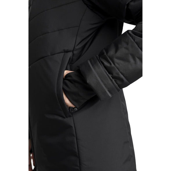 Didriksons Nana Womens Padded Insulated Jacket | Black