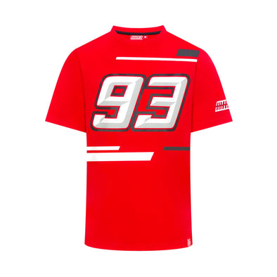 Marc Marquez Men's 93 T-Shirt | Red | 2019