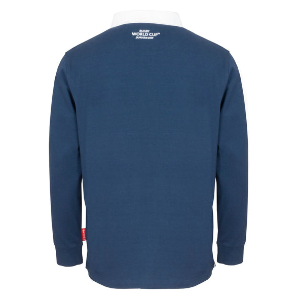 Rugby World Cup 2019 Men's Long Sleeve Classic Rugby Shirt | Navy