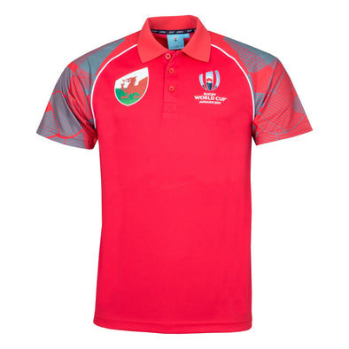Rugby World Cup 2019 Men's Polo Shirt | Wales