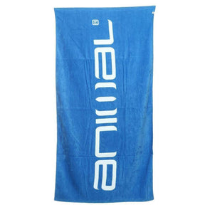 Animal Beach Towel | Mediterranean Blue