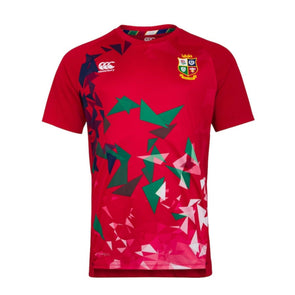 Canterbury British & Irish Lions Rugby Superlight Graphic Tee | Mens | Tango Red | 2021