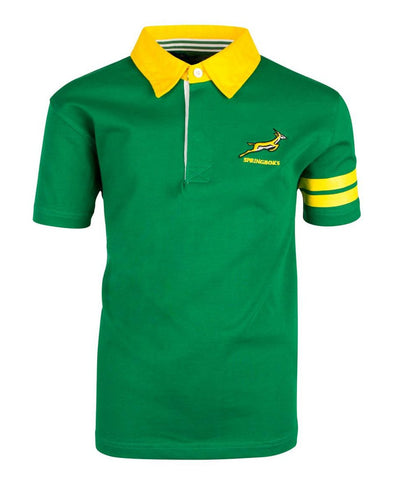 Springboks Rugby Kids Short Sleeved Rugby Shirt