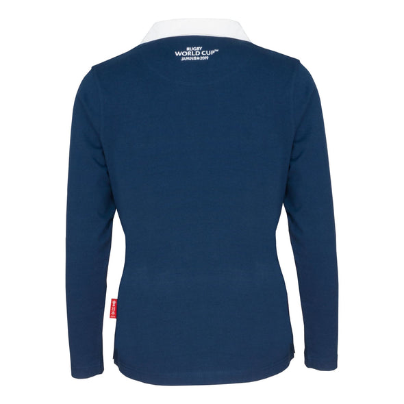 Rugby World Cup 2019  Women's Long Sleeve Classic Rugby Shirt | Navy