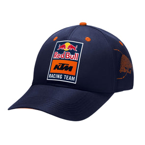 Red Bull KTM Racing Team Laser Cut Baseball Cap | Navy | Adult | 2021