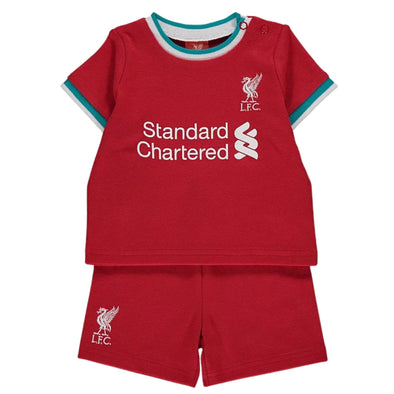 Liverpool FC Baby/Toddler T-Shirt & Shorts Set | 2021