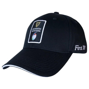 Guinness 6 Nations Rugby Classic Baseball Cap | Black | 2021 | Adult