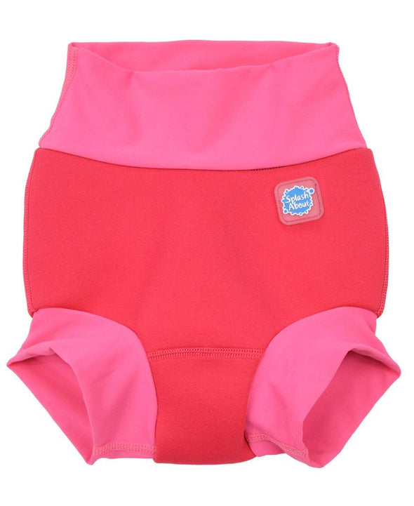 Splash About New Happy Nappy - Pink Geranium