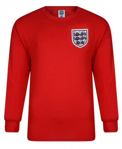England 1966 World Cup Final No.6 Retro Shirt-Red