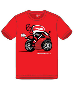 Ducati Corse Kids Bike T-shirt - Red