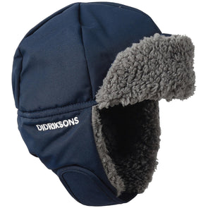Didriksons Biggles 3 Kids Winter Hat | Navy