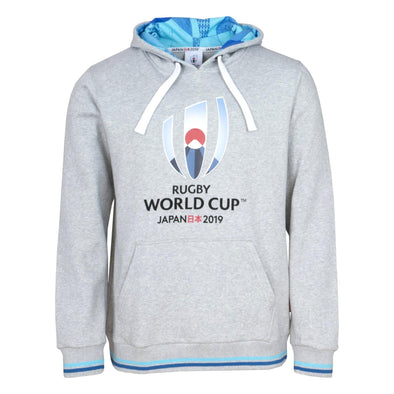 Rugby World Cup 2019 Mens Over Head Hoodie | Grey