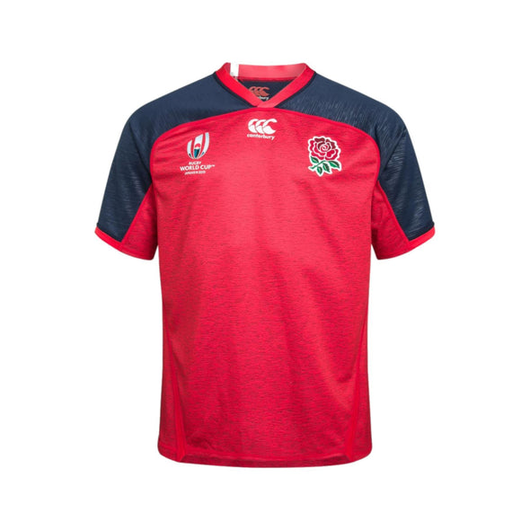 Canterbury Rugby World Cup 2019 England Away Pro Shirt | Union Red Marl | 2019 | Adult