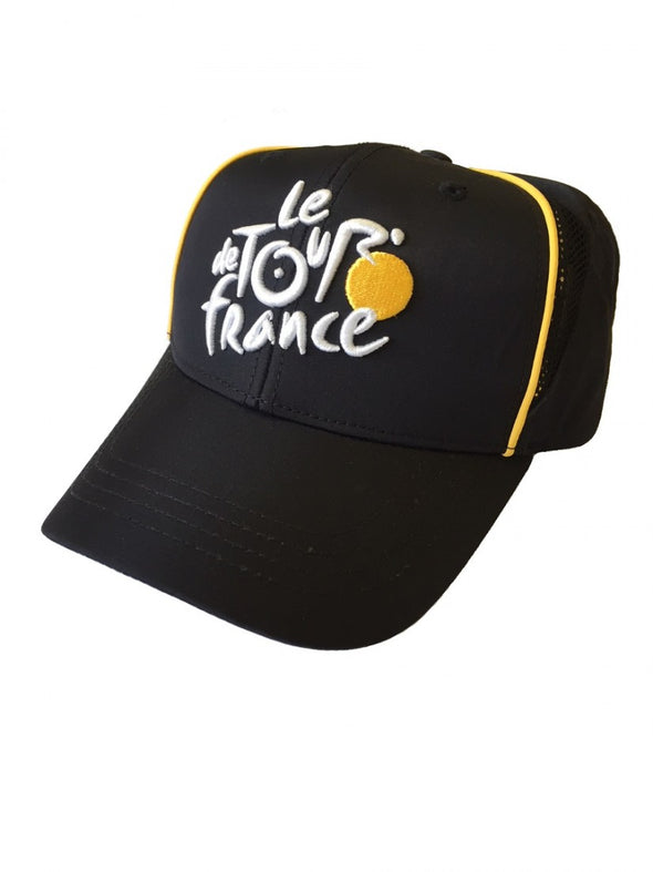 Tour de France Baseball Cap - Adult - Black - 2018