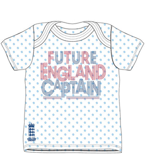 ECB Future England Captain T-Shirt 2018 - White