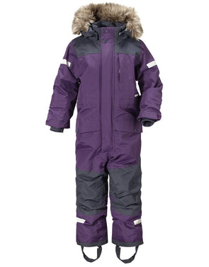 Didriksons Bjornen 2 Kids Snowsuit - Berry Purple