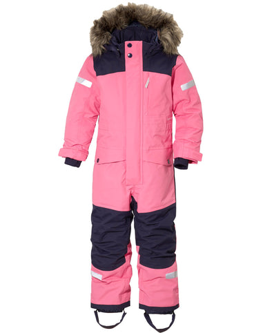 Didriksons Bjornen 2 Kids Snowsuit - Lollipop Pink