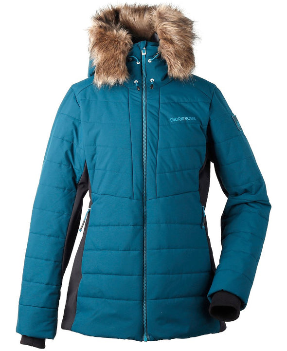 Didriksons Ona Womens Padded Jacket - Port Blue