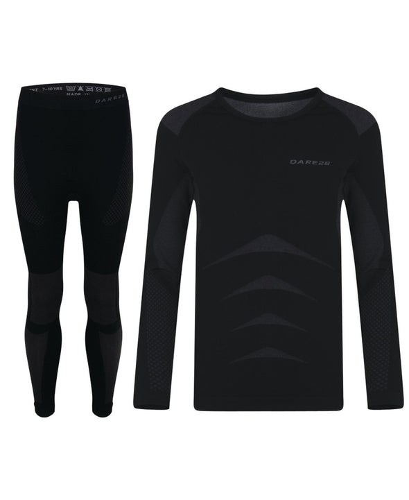 Dare 2b Kids Zonal Base Layer Set - Black
