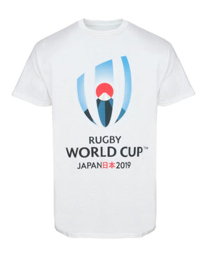 Rugby World Cup 2019 Mens Large Logo T-Shirt