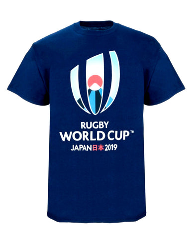 Rugby World Cup 2019 Kids Large Logo T-Shirt | Navy