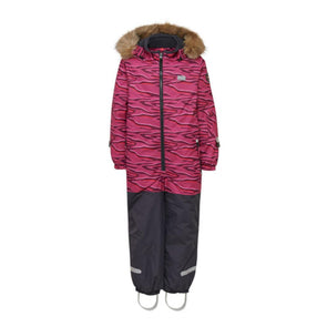 LEGO Wear Josefine Kids Snowsuit | Dark Pink