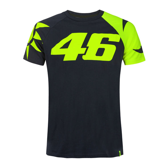 MotoGP Valentino Rossi Men's Sun and Moon T-Shirt | Navy | 2019