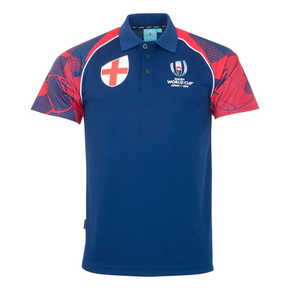 Rugby World Cup 2019 Men's Polo Shirt | England
