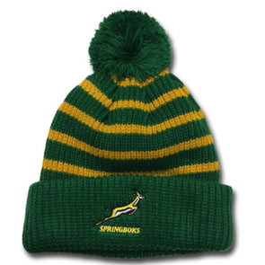 Springboks Rugby Bobble Hat | 2018/19 Season