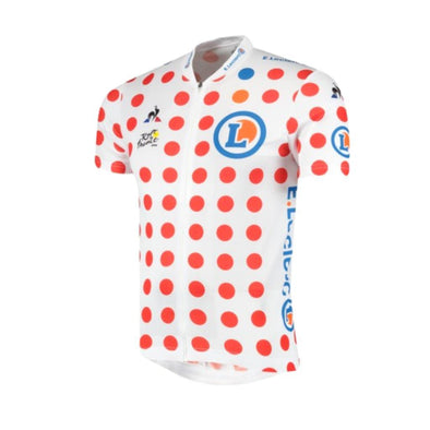 Tour de France Le Coq Sportif Men's Replica King of the Mountains Jersey | Polka | 2019