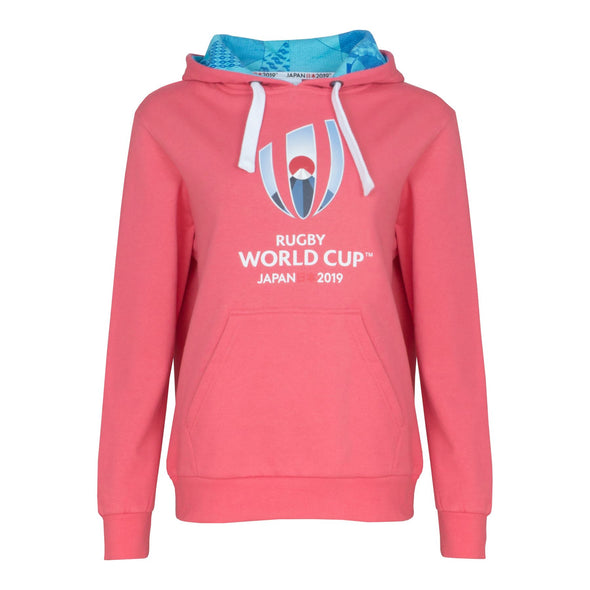 Rugby World Cup 2019 Women's Over the Head Hoodie | Pink