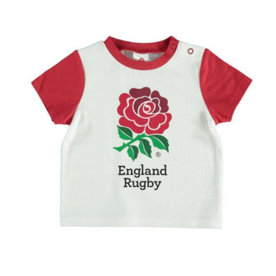 England RFU Rugby Baby/Toddler Rose T-Shirt | 2019/20