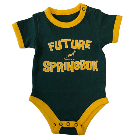 South Africa Rugby Springboks Baby Bodysuit | Green | 2019/20 Season