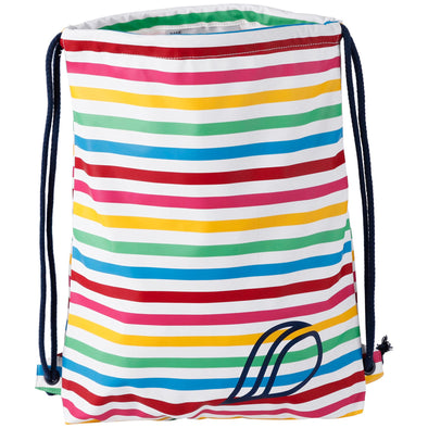 Didriksons Kids Galon Waterproof Bag | Rainbow Stripe