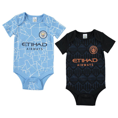 Manchester City Baby Kit 2 Pack Bodysuits | 2020/21 |