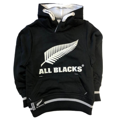 New Zealand All Blacks Kids Over Head Hoodie | Black | 2019/20 Season